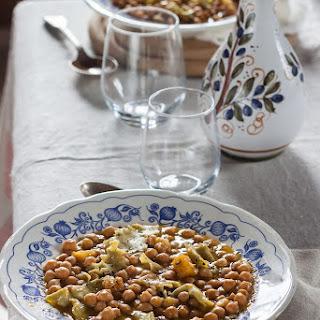Chickpea Soup With Rosemary Maltagliati