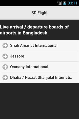 Bangladesh Flight Live