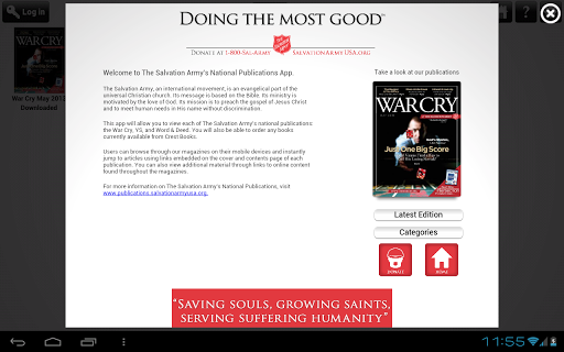 Salvation Army Publications (legacy) 4.15.2 screenshots 2