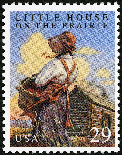 29c Little House on the Prarie stamp