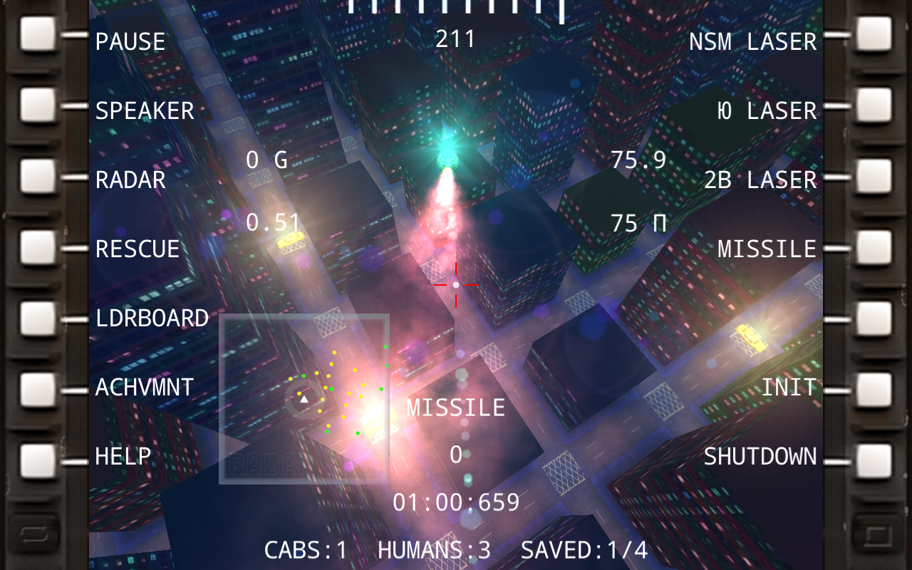 Cabs vs. Helicopter- screenshot