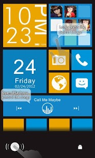 Color box Plus GO Locker Theme - screenshot thumbnail