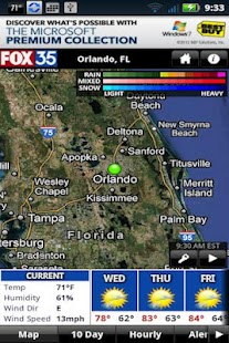 FOX35 Weather - screenshot thumbnail