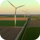 Windmills Video Live Wallpaper