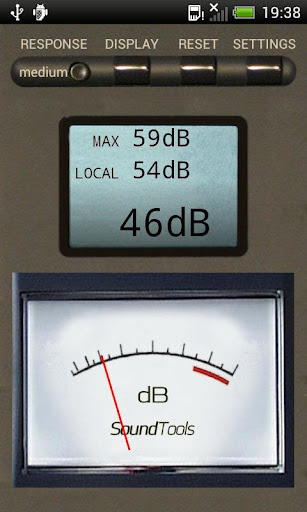 Sound Tools SPL Sound Meter