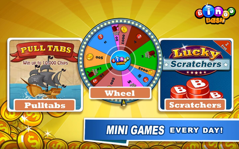 bingo bash fortune wheel game