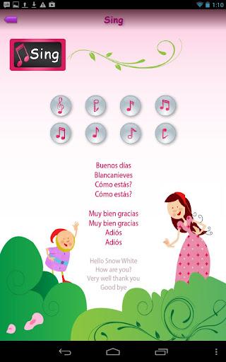 Princesses Learn Spanish