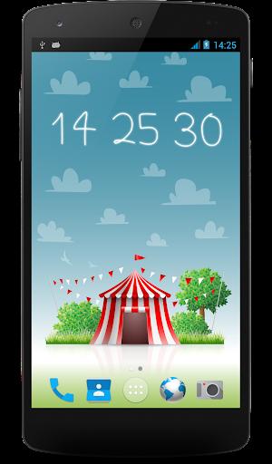 玩個人化App|新星一天晚上時鐘壁紙免費|APP試玩