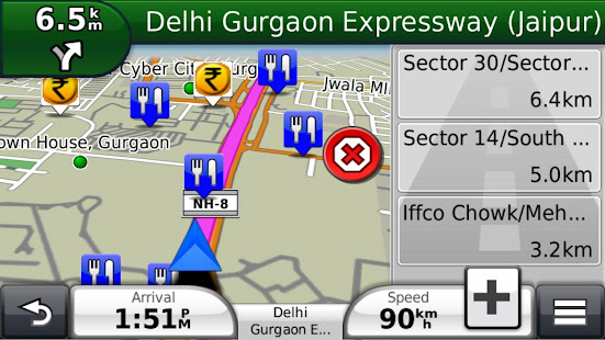 garmin hud india apps on google play. Black Bedroom Furniture Sets. Home Design Ideas