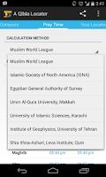 Screenshot of A Qibla Locator