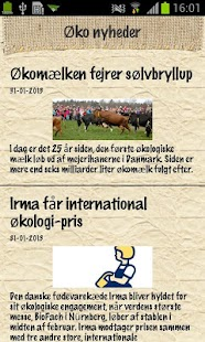 Økologisk Landsforening- screenshot thumbnail