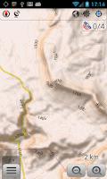 Screenshot of OsmAnd Contour lines plugin