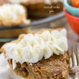 Carrot Cake Pie Recipe