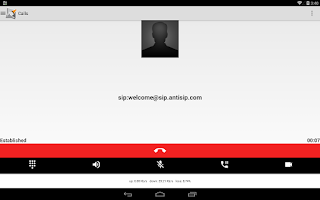 Screenshot of Voip By Antisip (+Video)