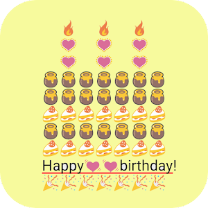 Birthday Art Emoji Keyboard 10 Apk