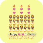 Birthday Art -Emoji Keyboard 1.0 Apk