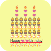 Birthday Art -Emoji Keyboard🎂