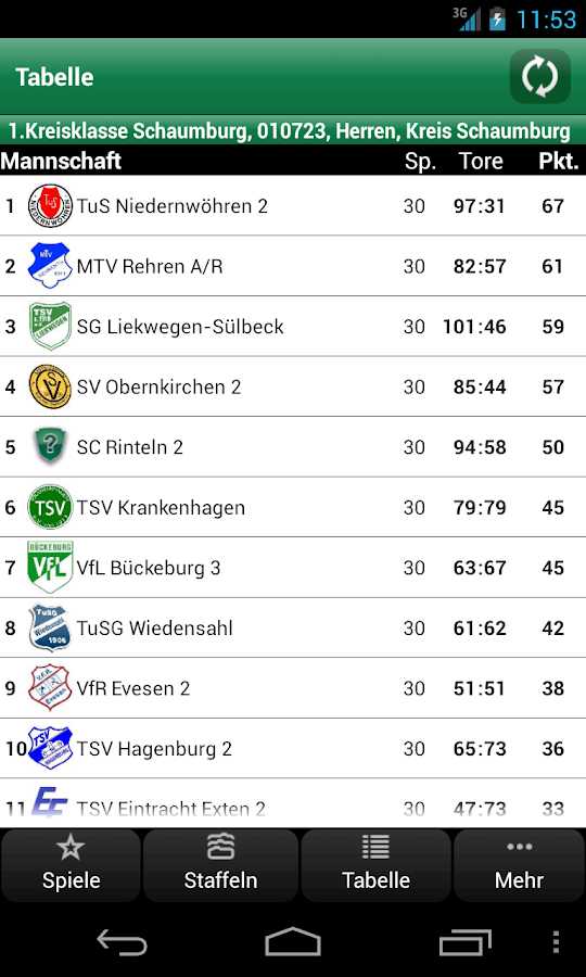 DFBnet 1:0 - screenshot