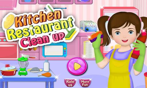 Restaurant Kitchen Clean Up