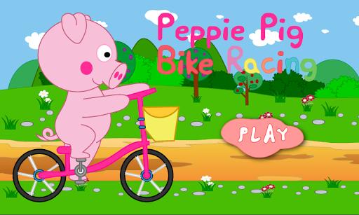 Peppie Pig Bike Racing Games