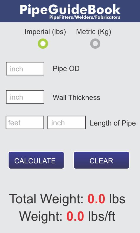 Pipe Fitter Tools- screenshot