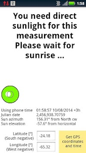 Precise North - Solar Compass- screenshot thumbnail