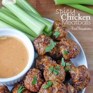 Spicy Chicken Meatballs.
