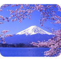 Travel in Japan: Landscape icon