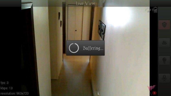 Home Security IP Cam WardenCam- screenshot
