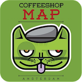 Coffeeshop Map Amsterdam