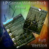 LauncherPro Glass Sense skin