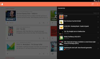Screenshot of BeyondPod Podcast Manager