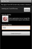 Screenshot of Call the TOS