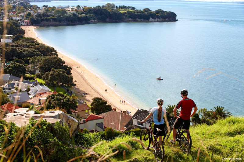 A 10-minute ferry ride from downtown Auckland you'll find the relaxed, historic suburb of Devonport, where you can bike or stroll along the waterfront to enjoy views of the city and the Hauraki Gulf islands.