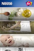 Screenshot of Nestlé TV