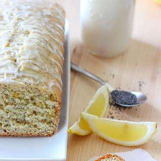 Lemon Poppy Seed Loaf Cake.