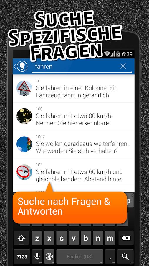 iTheorie Führerschein 2015 - screenshot