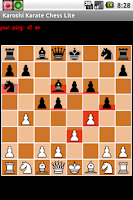 Screenshot of Karoshi Karate Chess Lite