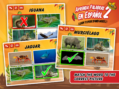 Spanish Vocabulary Flashcards- screenshot thumbnail