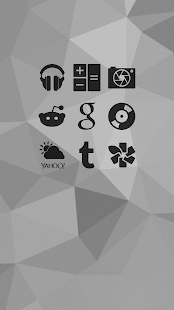 Shapely Black Icons- screenshot thumbnail