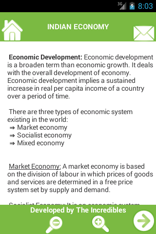 Notes on Indian Economy- screenshot