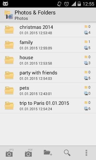 Photos Folders