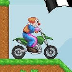 Clown Race 2 - Motorcross game