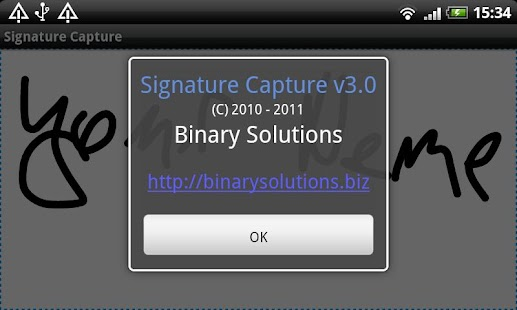 Signature Capture - screenshot thumbnail