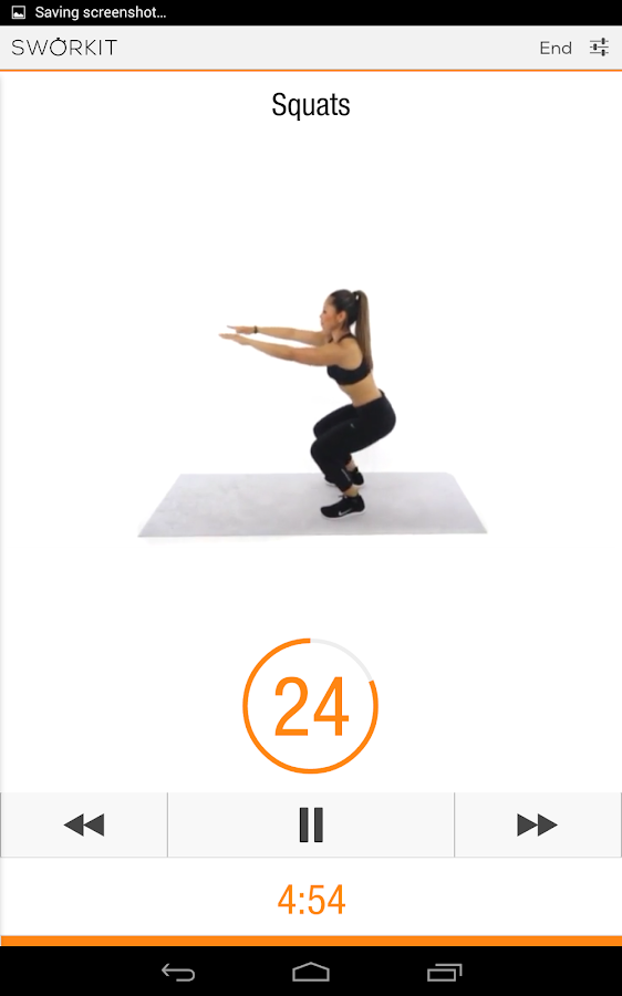 Sworkit Lite - Workout Trainer - screenshot