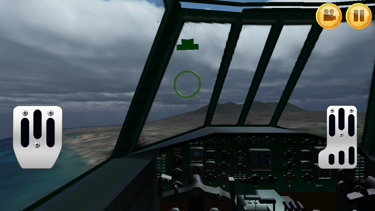 Army Plane Flight 3D - screenshot