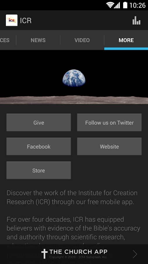 Creation Science Update - screenshot
