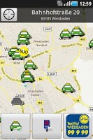 Screenshot of Taxi Wiesbaden
