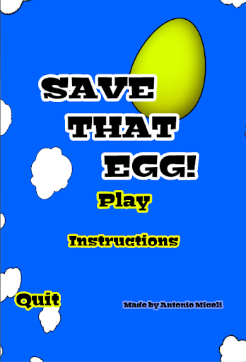 Save That Egg