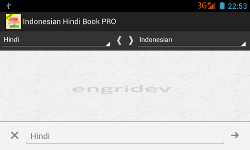 Kamus Indonesian Hindi PRO